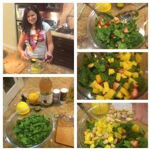 Pic 17, mango salad