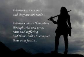 warriors are not born